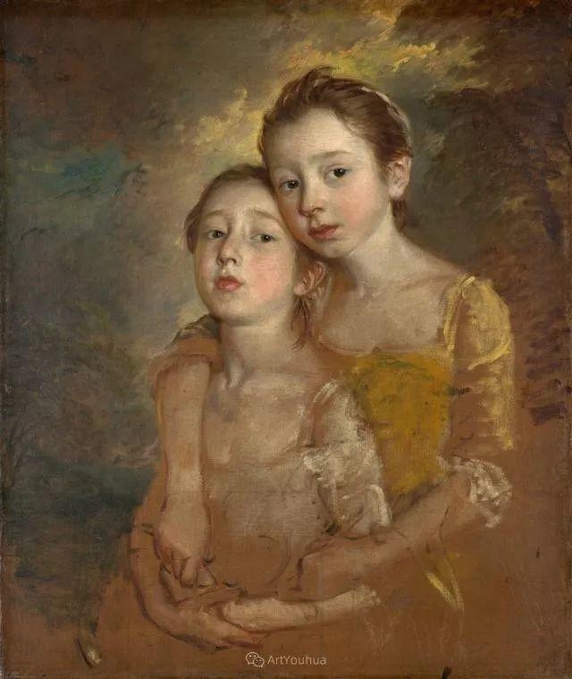18世纪英国皇家艺术学院院士的肖像画——庚斯博罗插图20