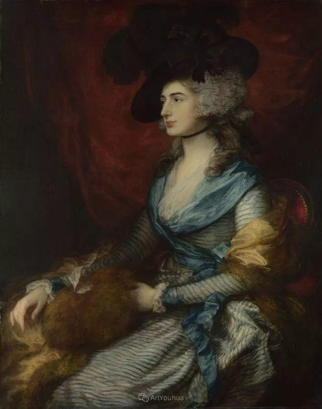 18世纪英国皇家艺术学院院士的肖像画——庚斯博罗插图22