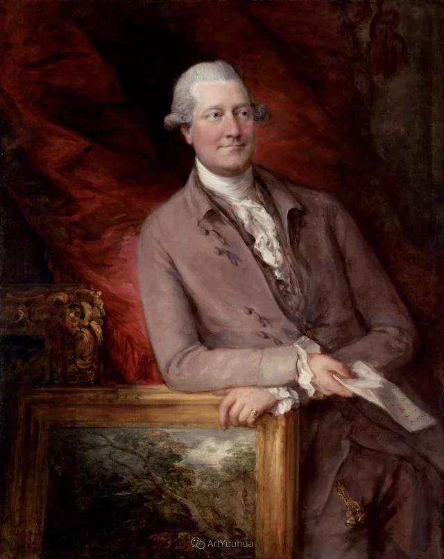 18世纪英国皇家艺术学院院士的肖像画——庚斯博罗插图23