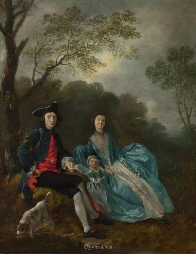 18世纪英国皇家艺术学院院士的肖像画——庚斯博罗插图24