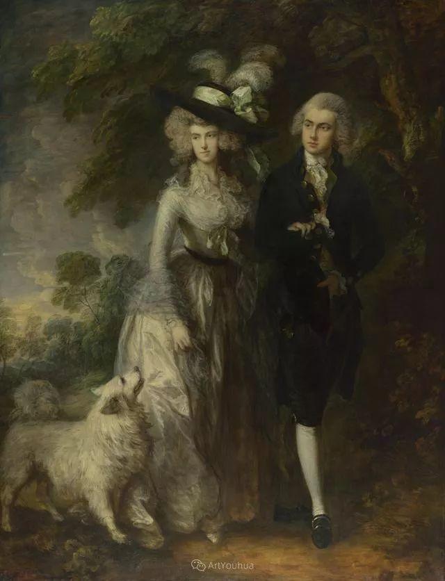 18世纪英国皇家艺术学院院士的肖像画——庚斯博罗插图25