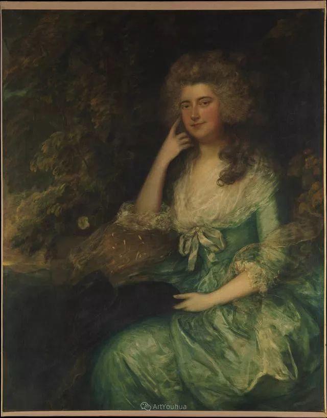 18世纪英国皇家艺术学院院士的肖像画——庚斯博罗插图26