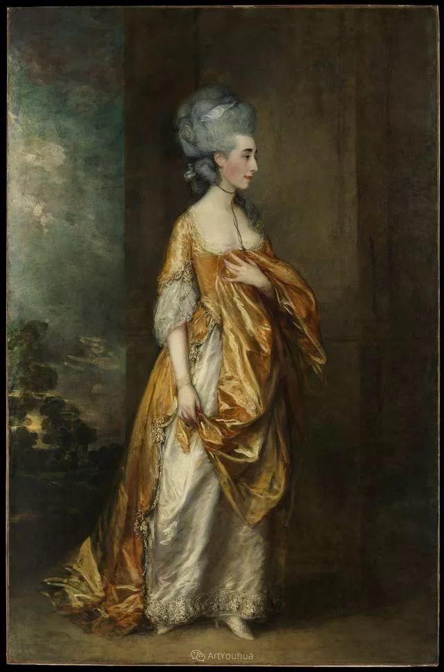 18世纪英国皇家艺术学院院士的肖像画——庚斯博罗插图30