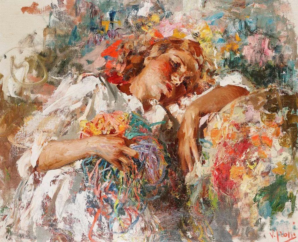 意大利肖像和风俗画家Vincenzo Irolli插图