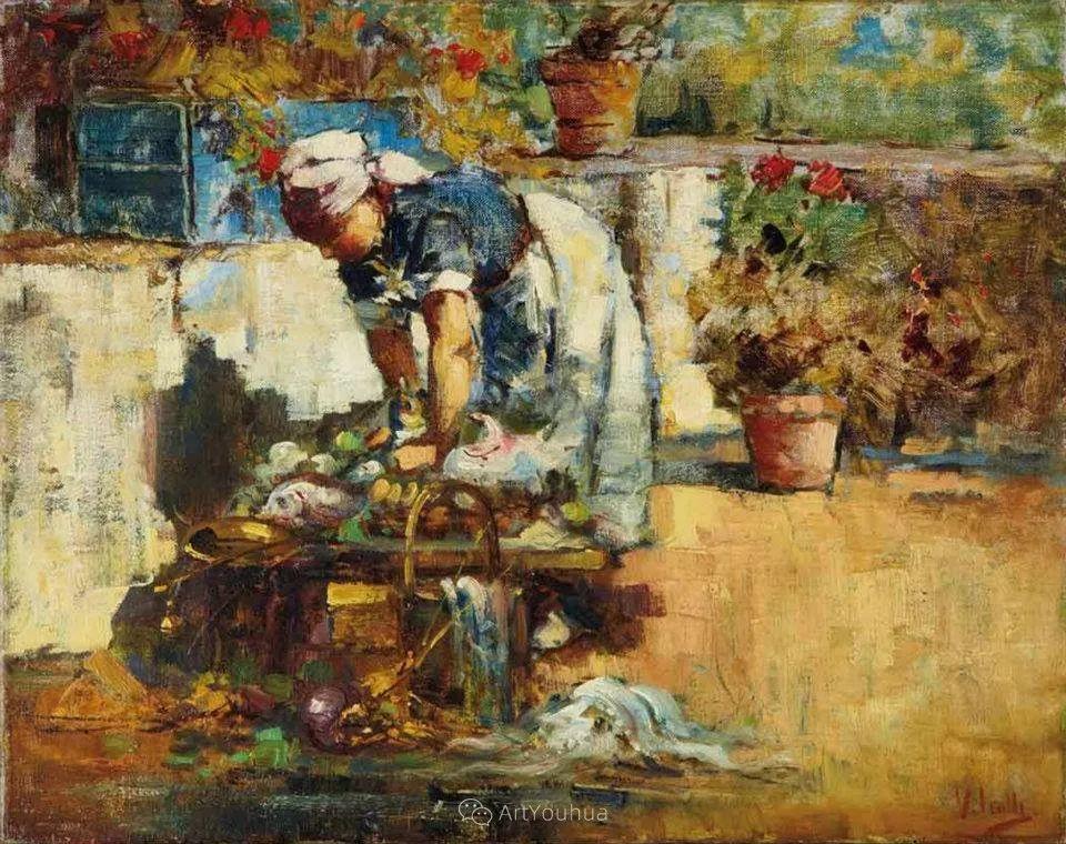 意大利肖像和风俗画家Vincenzo Irolli插图1