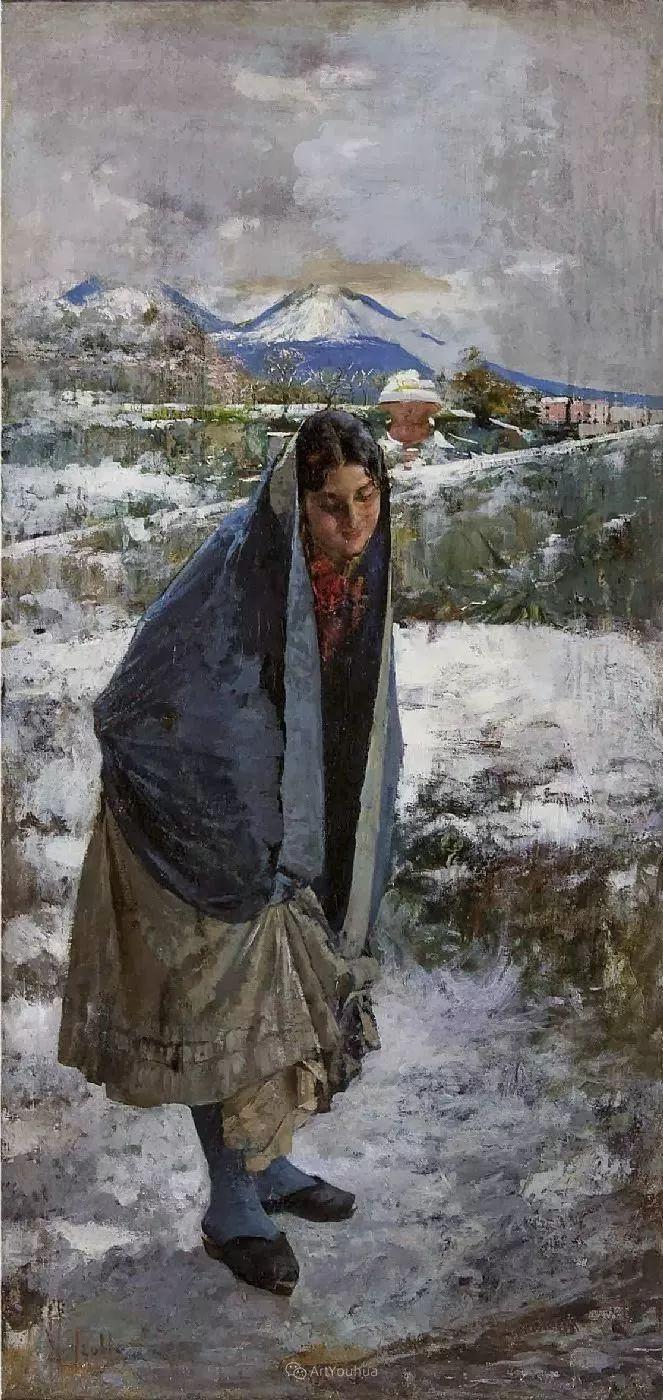 意大利肖像和风俗画家Vincenzo Irolli插图9