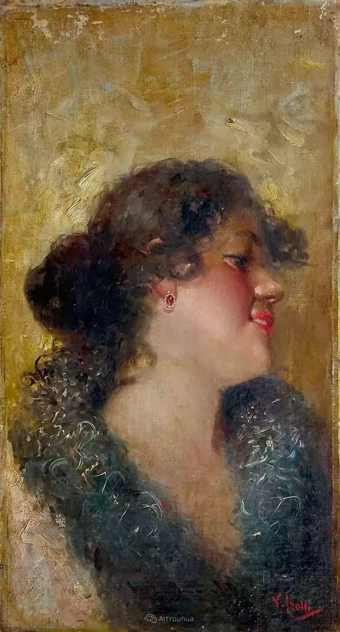 意大利肖像和风俗画家Vincenzo Irolli插图10