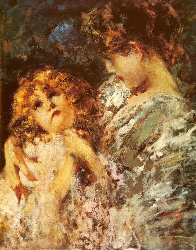 意大利肖像和风俗画家Vincenzo Irolli插图11