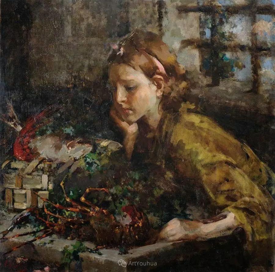 意大利肖像和风俗画家Vincenzo Irolli插图12