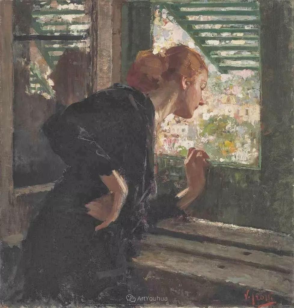 意大利肖像和风俗画家Vincenzo Irolli插图16