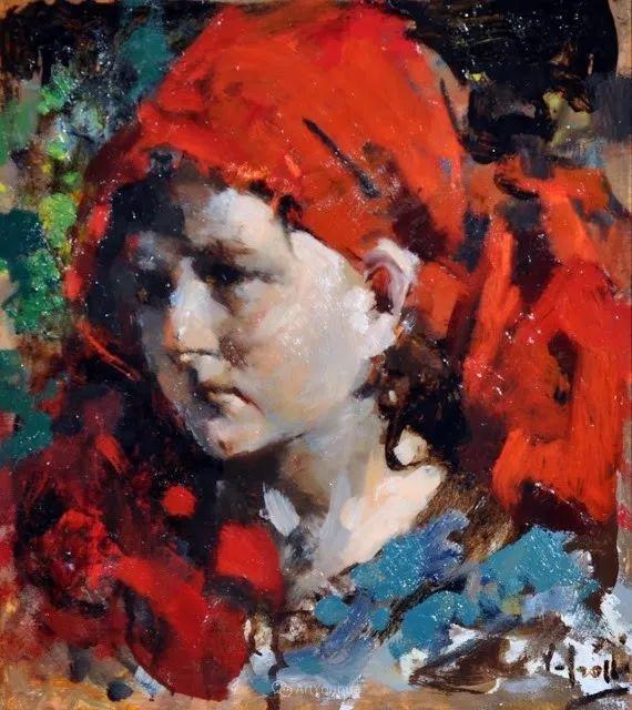 意大利肖像和风俗画家Vincenzo Irolli插图19