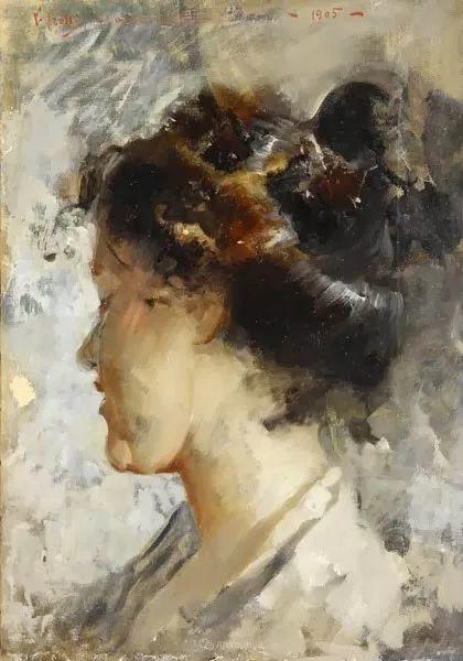 意大利肖像和风俗画家Vincenzo Irolli插图25