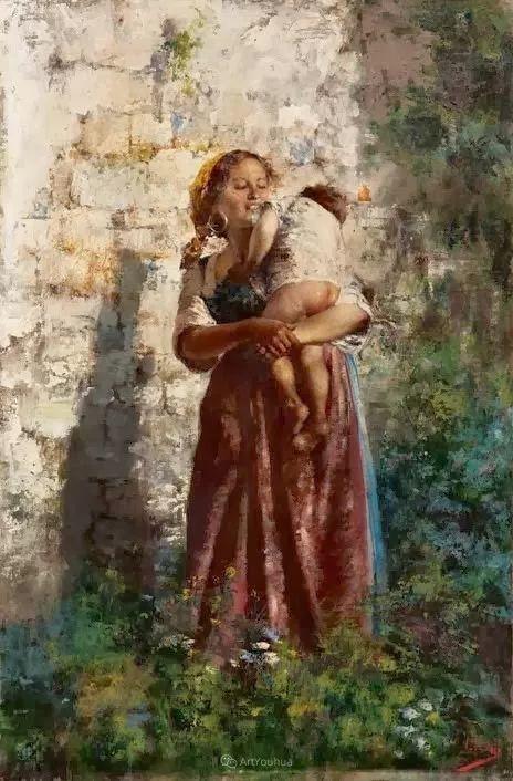 意大利肖像和风俗画家Vincenzo Irolli插图26