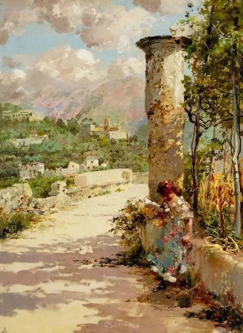意大利肖像和风俗画家Vincenzo Irolli插图30