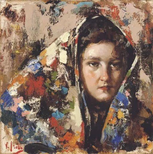 意大利肖像和风俗画家Vincenzo Irolli插图31