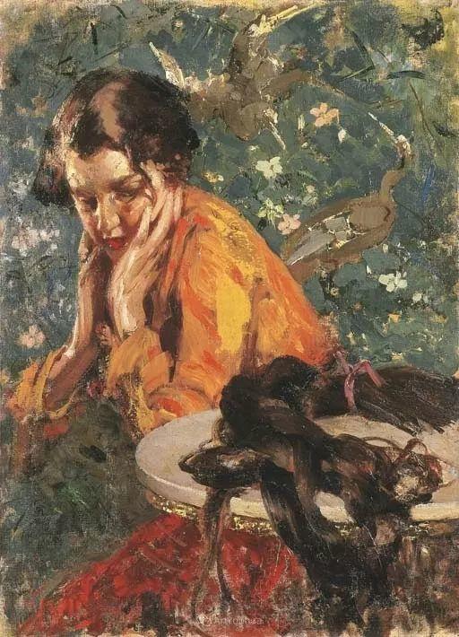 意大利肖像和风俗画家Vincenzo Irolli插图32