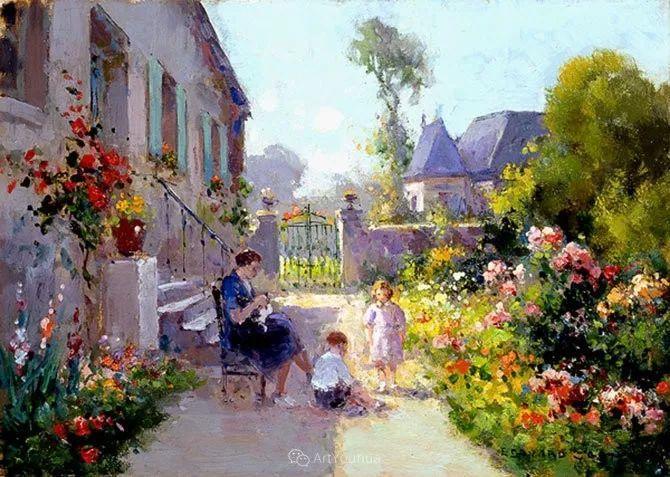 法国画家Edouard Leon Cortes (1882-1969)插图1
