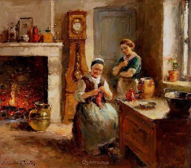 法国画家Edouard Leon Cortes (1882-1969)插图7