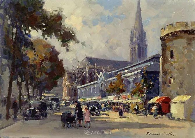 法国画家Edouard Leon Cortes (1882-1969)插图9