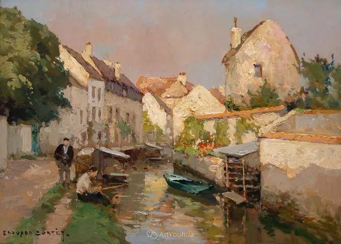 法国画家Edouard Leon Cortes (1882-1969)插图11