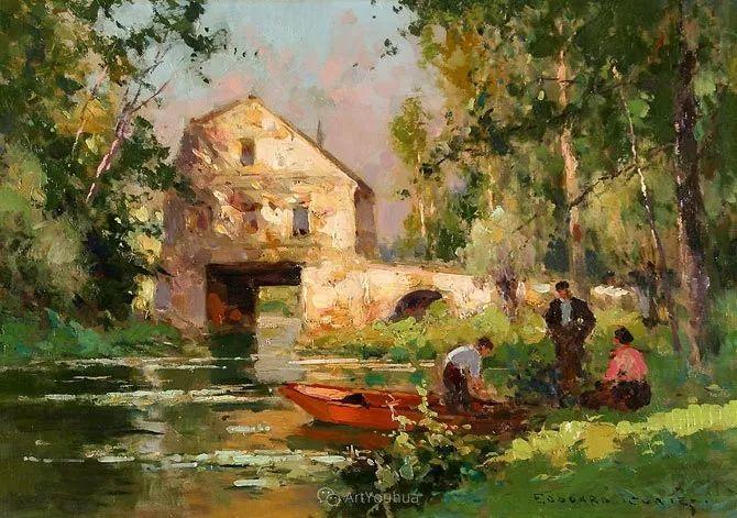 法国画家Edouard Leon Cortes (1882-1969)插图19