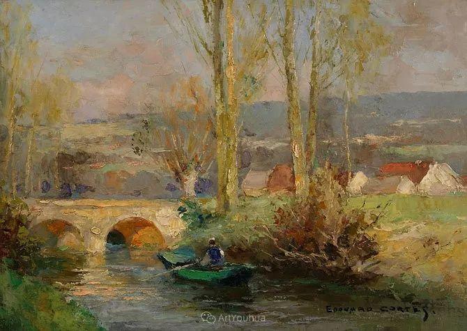 法国画家Edouard Leon Cortes (1882-1969)插图23
