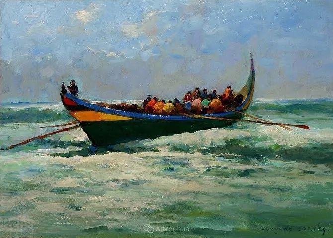 法国画家Edouard Leon Cortes (1882-1969)插图31