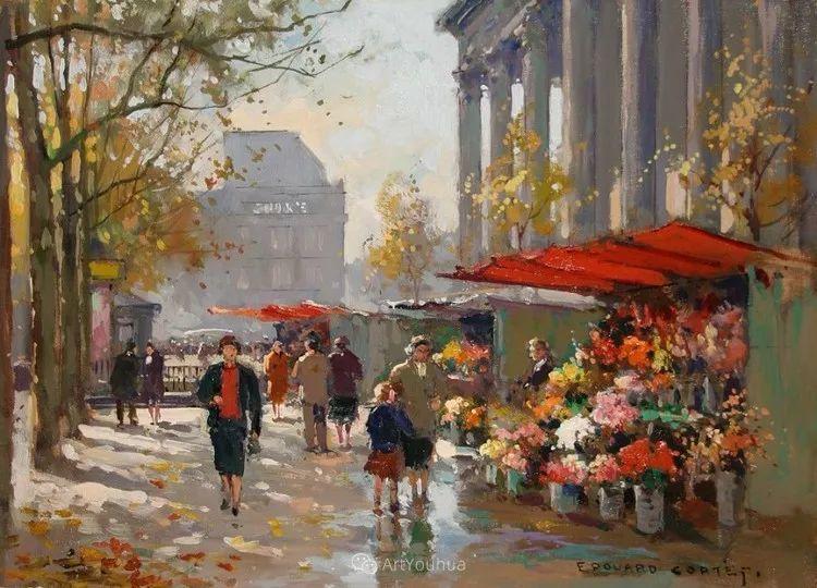 法国画家Edouard Leon Cortes (1882-1969)插图41