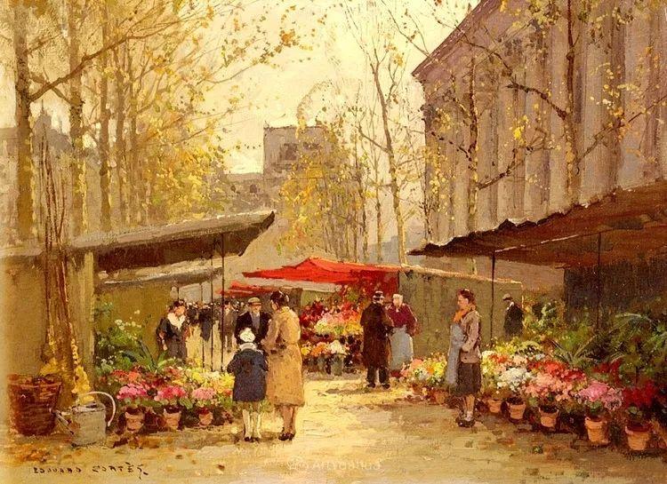 法国画家Edouard Leon Cortes (1882-1969)插图45