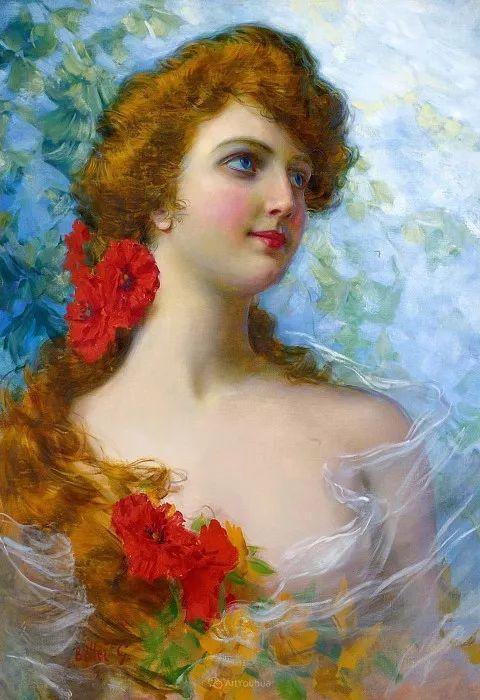 惟妙惟肖的肖像,意大利画家Gaetano Bellei插图