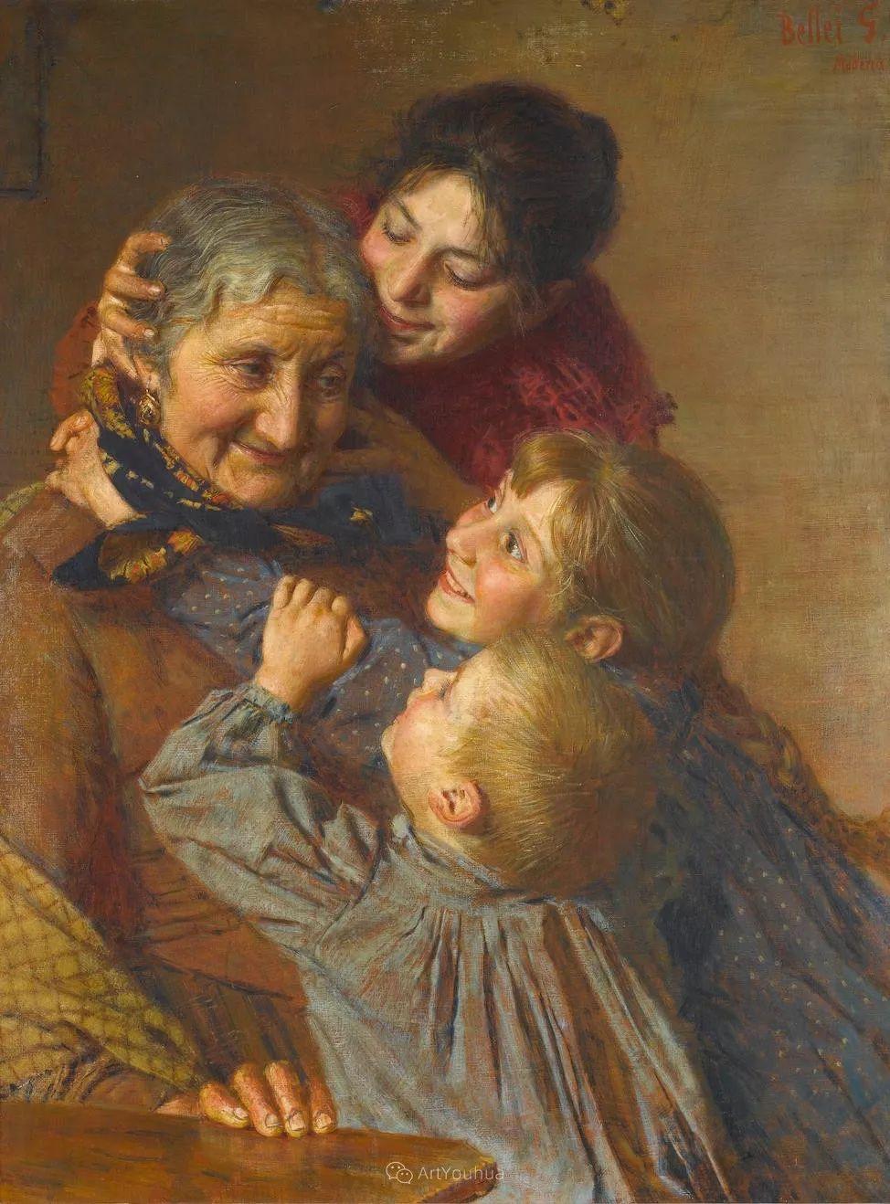惟妙惟肖的肖像,意大利画家Gaetano Bellei插图1