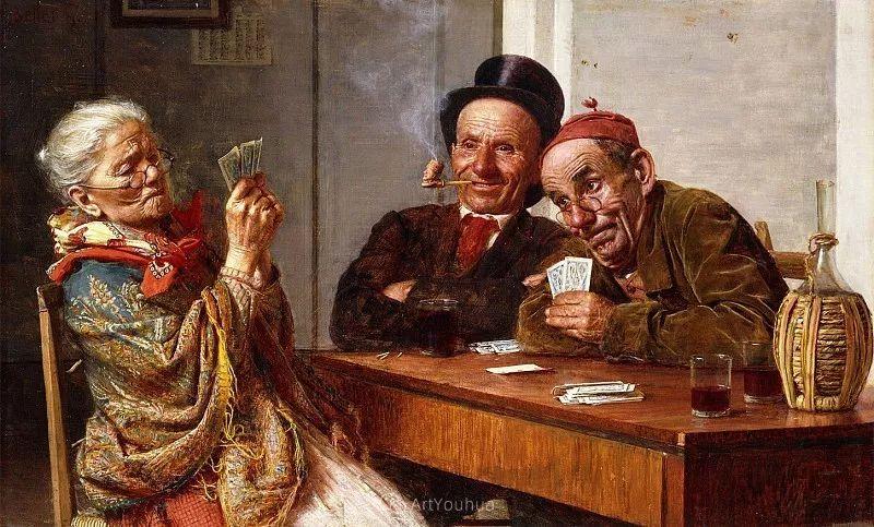 惟妙惟肖的肖像,意大利画家Gaetano Bellei插图3