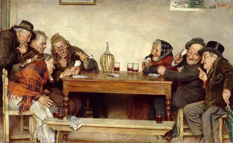 惟妙惟肖的肖像,意大利画家Gaetano Bellei插图4