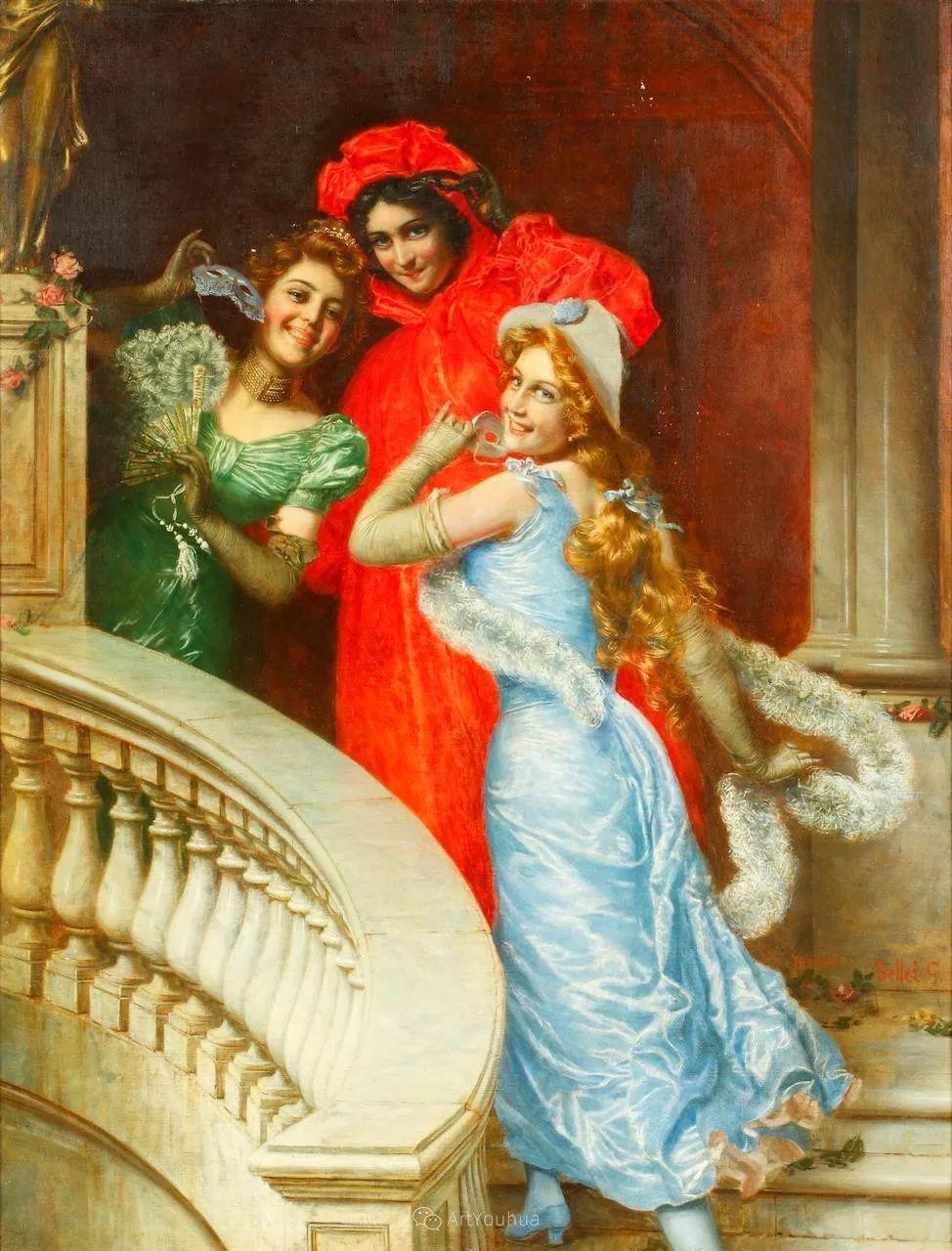 惟妙惟肖的肖像,意大利画家Gaetano Bellei插图5
