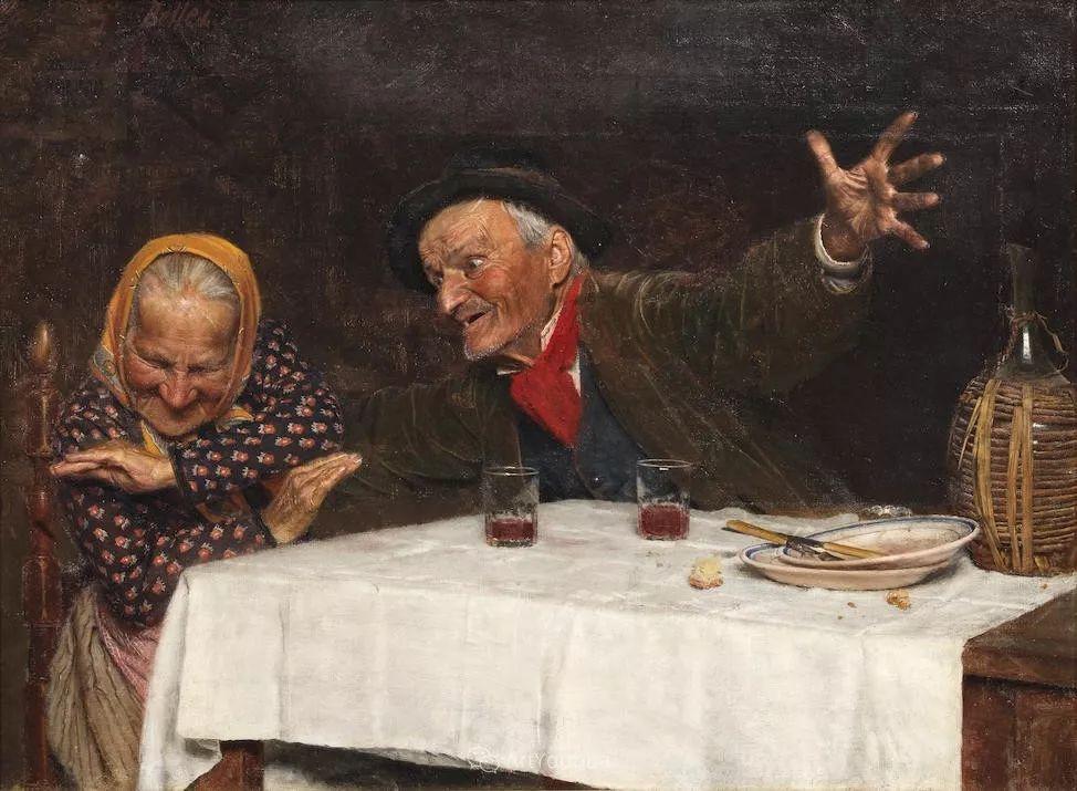 惟妙惟肖的肖像,意大利画家Gaetano Bellei插图6