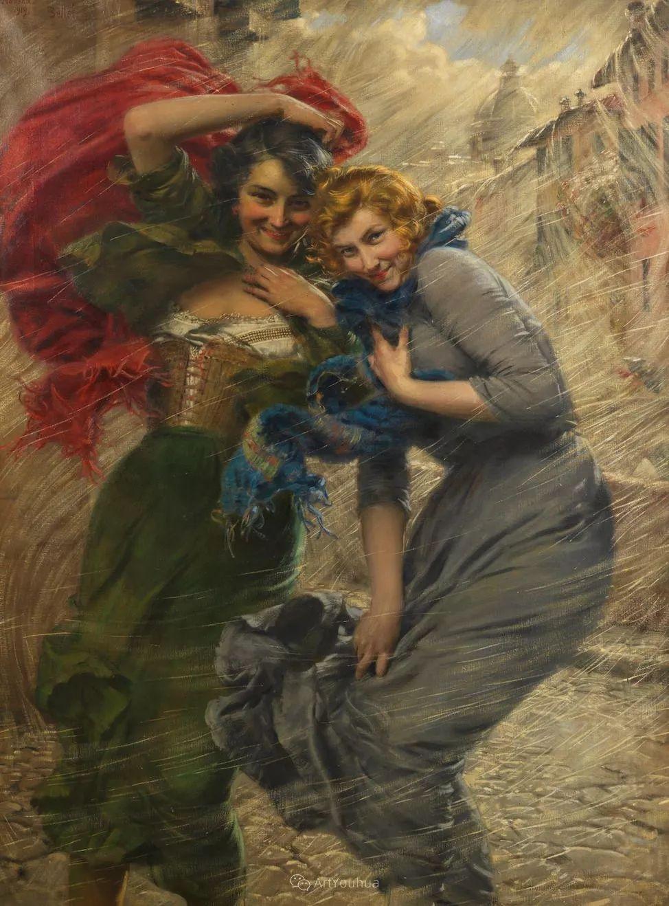 惟妙惟肖的肖像,意大利画家Gaetano Bellei插图7