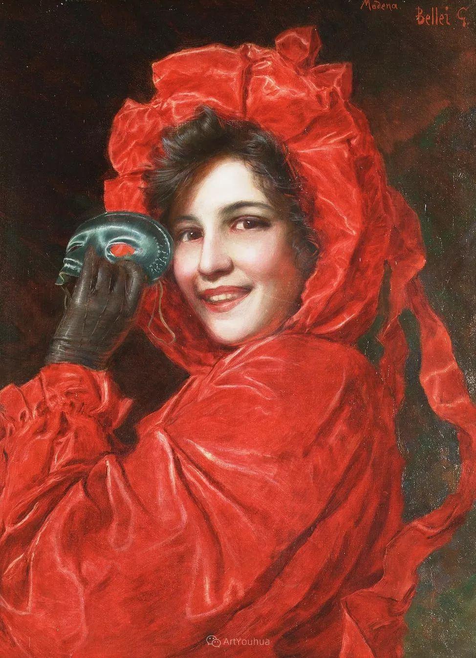 惟妙惟肖的肖像,意大利画家Gaetano Bellei插图8