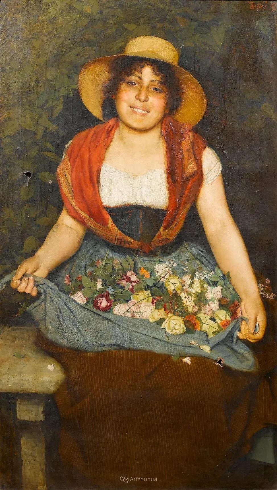 惟妙惟肖的肖像,意大利画家Gaetano Bellei插图9