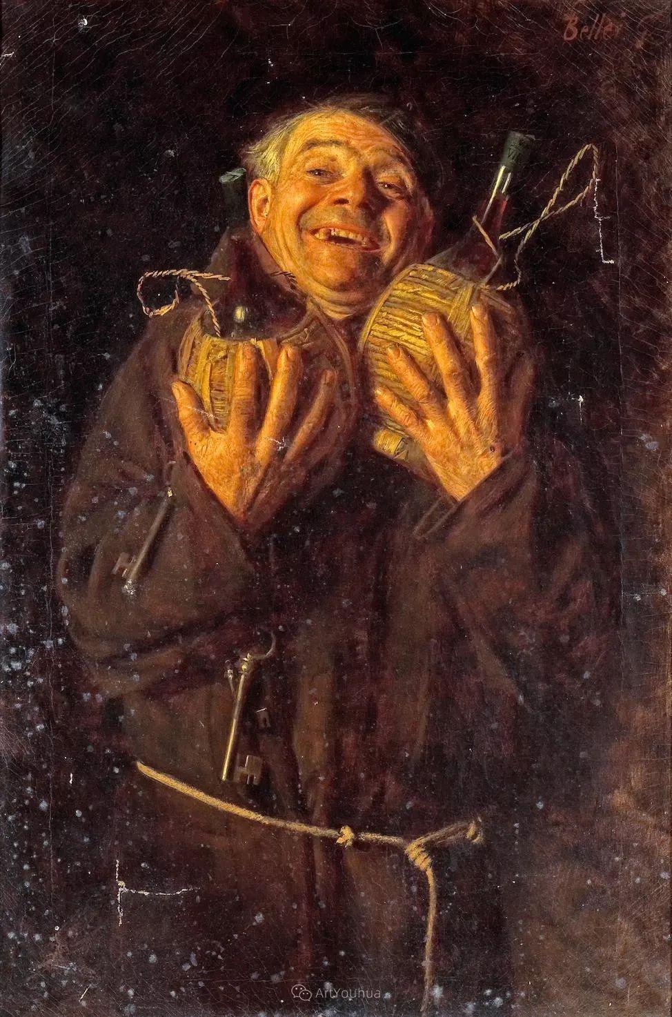 惟妙惟肖的肖像,意大利画家Gaetano Bellei插图10