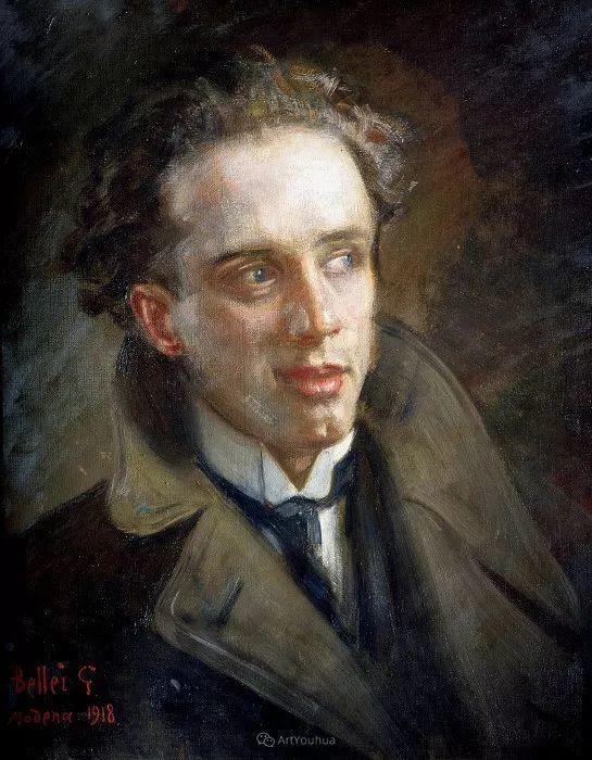惟妙惟肖的肖像,意大利画家Gaetano Bellei插图11