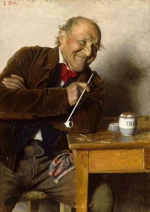 惟妙惟肖的肖像,意大利画家Gaetano Bellei插图12
