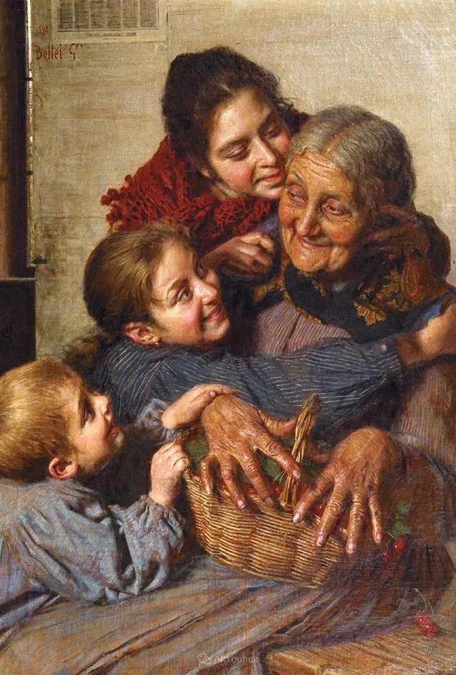 惟妙惟肖的肖像,意大利画家Gaetano Bellei插图17