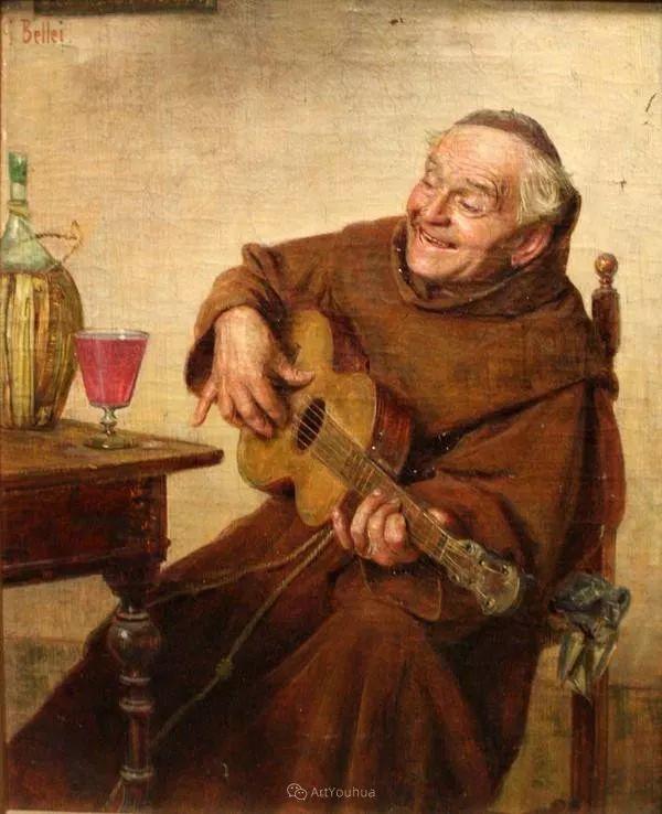 惟妙惟肖的肖像,意大利画家Gaetano Bellei插图18