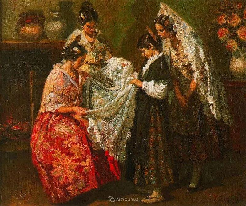 西班牙画家Juan Gonzalez Alacreu插图5