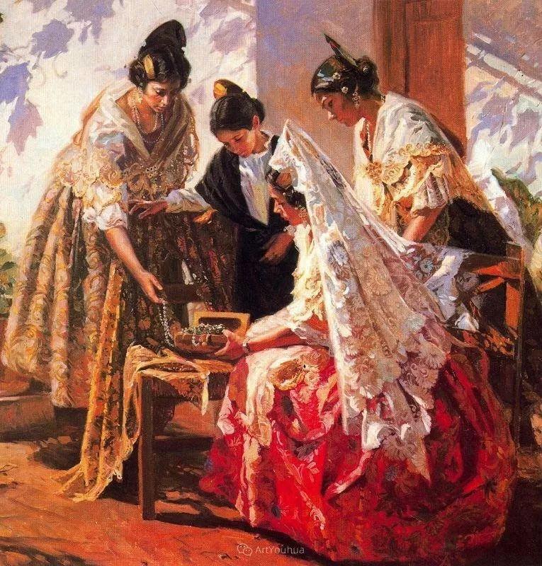 西班牙画家Juan Gonzalez Alacreu插图7