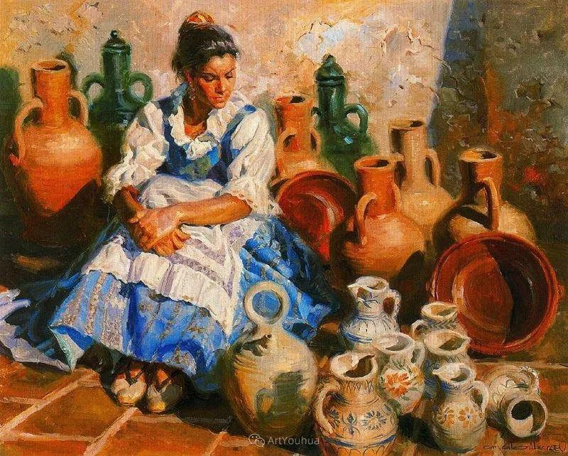 西班牙画家Juan Gonzalez Alacreu插图10
