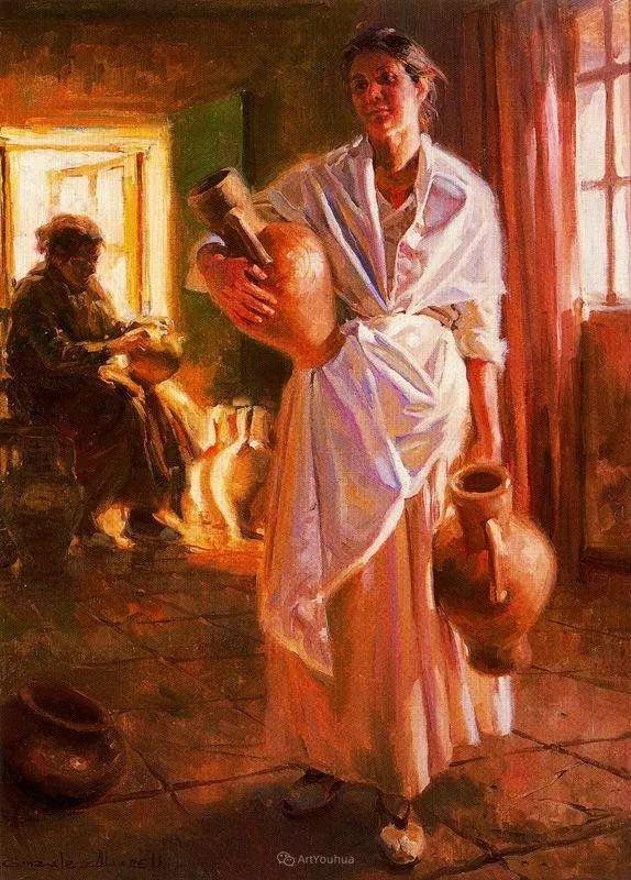 西班牙画家Juan Gonzalez Alacreu插图14