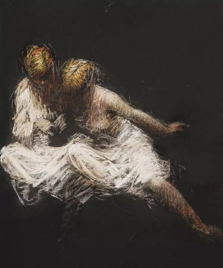 人物粉彩,澳大利亚女画家Judy Drew插图11