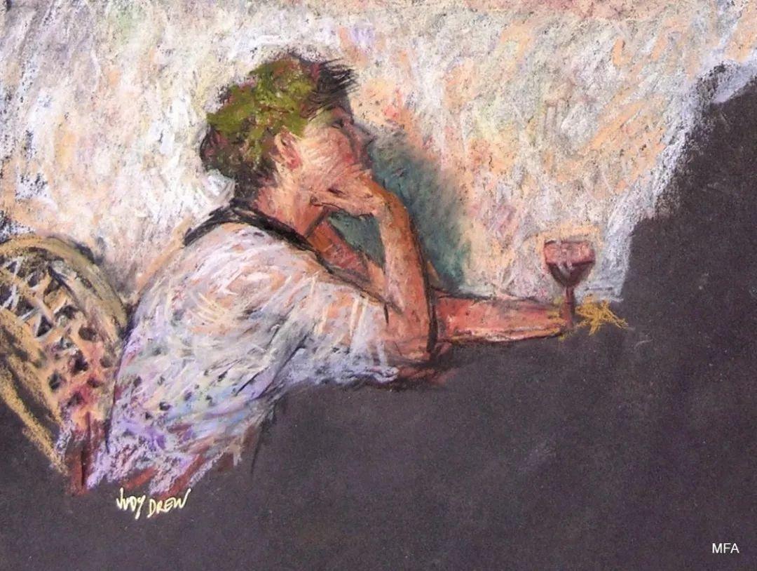 人物粉彩,澳大利亚女画家Judy Drew插图33