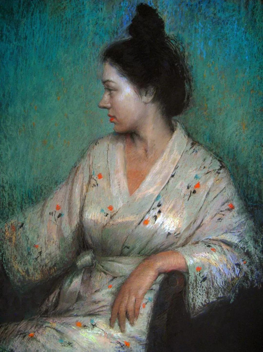 人物粉彩,澳大利亚女画家Judy Drew插图37